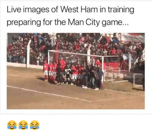 Soccer, Sports, and Game: Live images of West Ham in training  preparing for the Man City game... 😂😂😂
