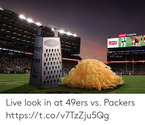 Packers: Live look in at 49ers vs. Packers https://t.co/v7TzZju5Qg
