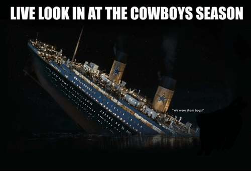 """Dallas Cowboys, Nfl, and Live: LIVE LOOK IN AT THE COWBOYS SEASON  We were them boyzl"""""""