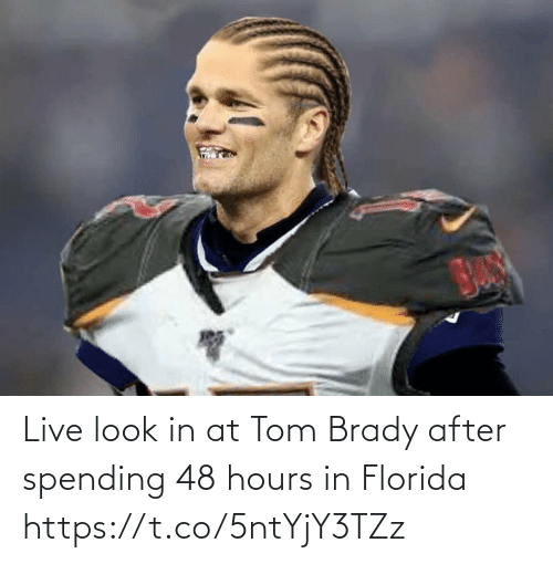 tom brady: Live look in at Tom Brady after spending 48 hours in Florida https://t.co/5ntYjY3TZz