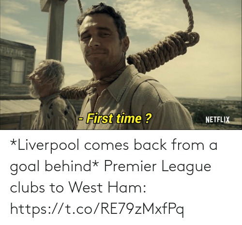 premier: *Liverpool comes back from a goal behind*  Premier League clubs to West Ham: https://t.co/RE79zMxfPq