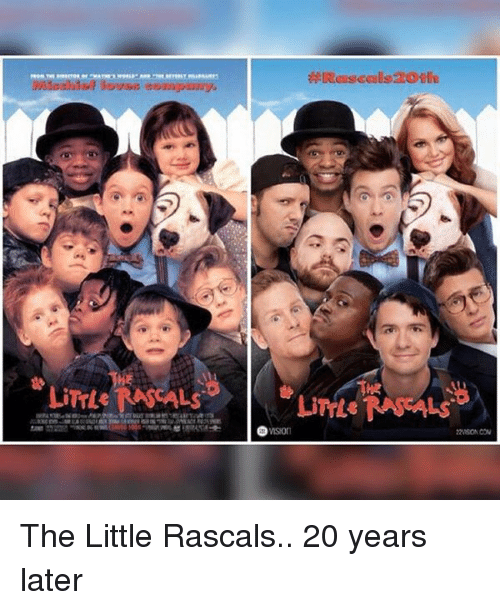 rascals: Livre NASCALs The Little Rascals.. 20 years later