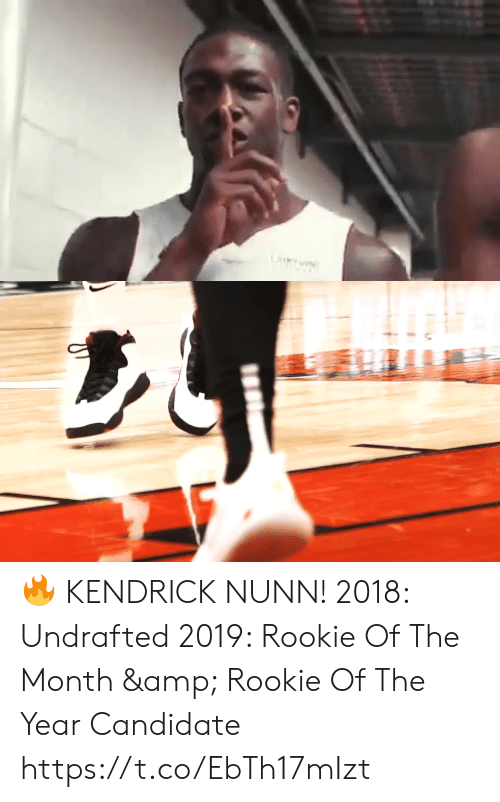 Rookie: LiY 🔥 KENDRICK NUNN!    2018: Undrafted 2019: Rookie Of The Month & Rookie Of The Year Candidate   https://t.co/EbTh17mIzt