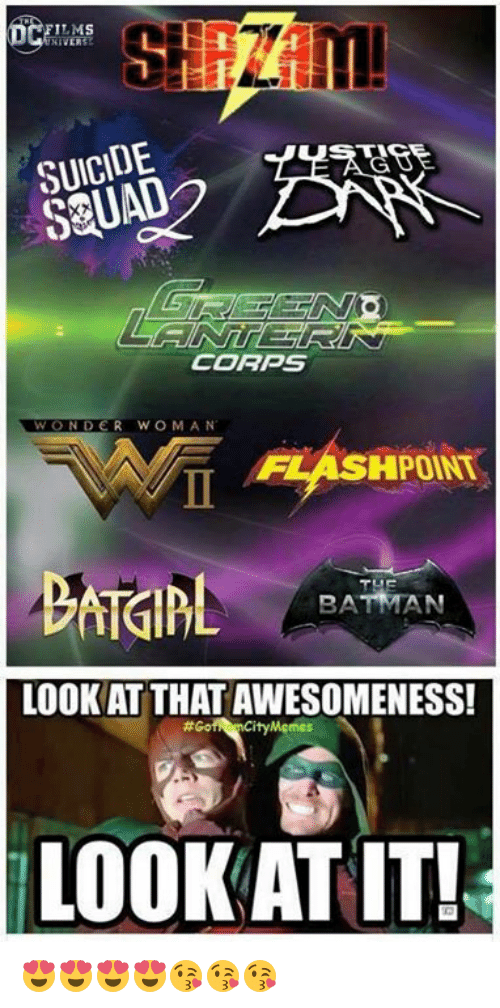 Awesomeness: LMS  SUICIDE  SQUAD  CORPS  WOND  WONDER WOMAN  FLASHPOINT  BA  LOOK AT THAT AWESOMENESS!  #Go  Mgmes  LOOK AT IT! 😍😍😍😍😘😘😘