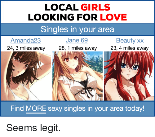 search for singles in my area