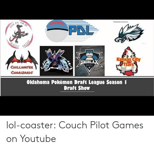View: lol-coaster:  Couch Pilot Games on Youtube