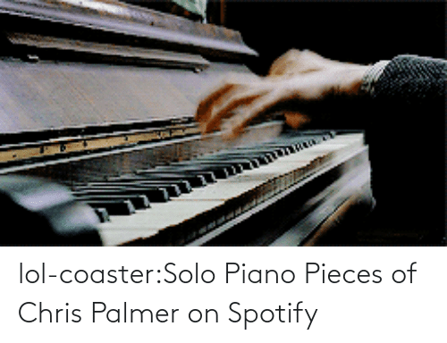solo: lol-coaster:Solo Piano Pieces of Chris Palmer on Spotify