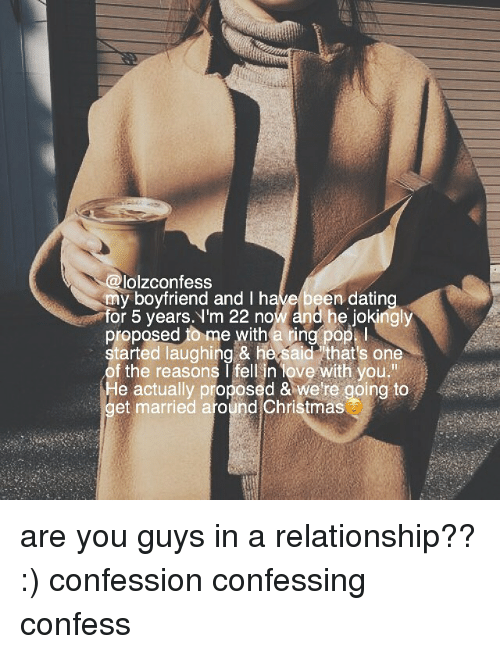 Been dating for 5 years