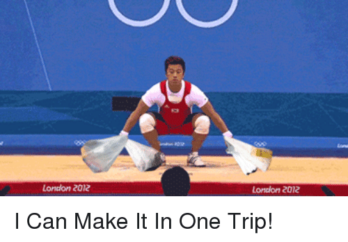 london 2012: London 2012  Lontion 2012 <p>I Can Make It In One Trip!</p>