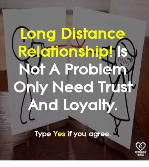 Long Distances Relationship Trust Quotes And Love Issues: 25+ Best Memes About Long Distance