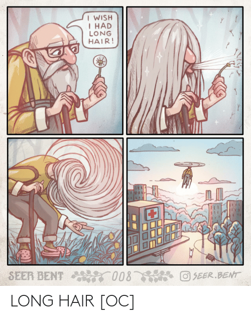 Hair, Long Hair, and Long: LONG HAIR [OC]