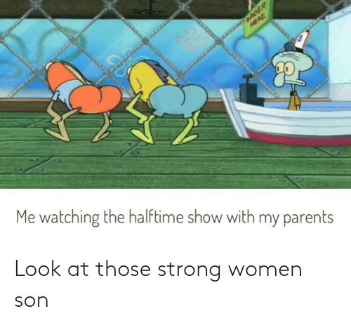 strong women: Look at those strong women son