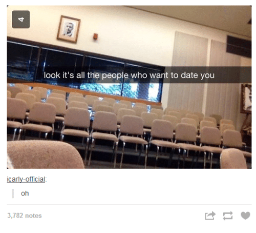 🤖: look it's all the people who want to date you  officia  Car  oh  3,782 notes