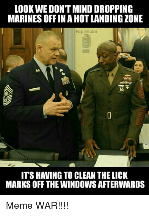 Funny military and pop memes of 2016 on sizzle for Window licker meme