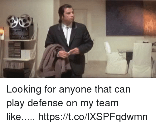 Mike Tomlin: Looking for anyone that can play defense on my team like..... https://t.co/lXSPFqdwmn