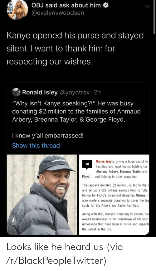 blackpeopletwitter: Looks like he heard us (via /r/BlackPeopleTwitter)