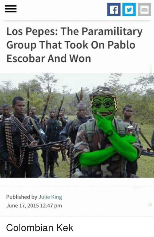 Search Pablo Escobar Memes on me.me