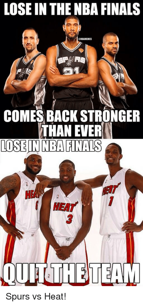 LOSE IN THE NBA FINALS CRNBAMEMES COMES BACK STRONGER THAN ...
