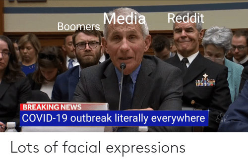 Expressions: Lots of facial expressions