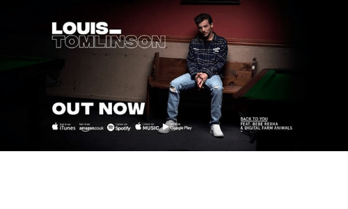 Animals, Memes, and Music: LOUIS  OUT NOW  t iTunes a naponcou Spotify MUSIC  iTunes amnouk  SpotifyMUsicGoogle Play  ogle Play  FEAT. BEBE REXHA  &DIGITAL FARM ANIMALS