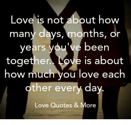 Quotes I Love You More Every Day: 25+ Best Memes About Been Together
