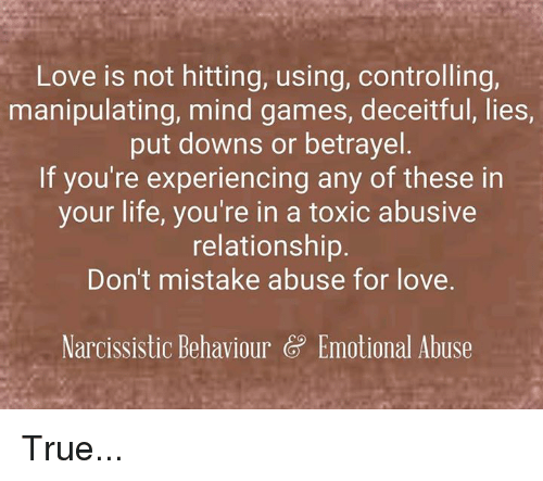 mind games controlling relationship with kids