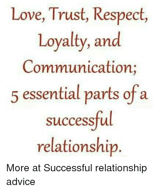 jobro trust and loyalty in relationship