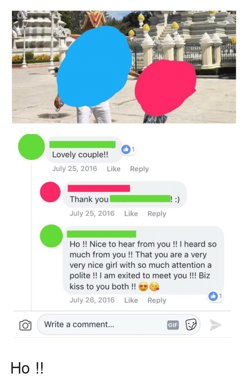 nice to meet you reply likewise