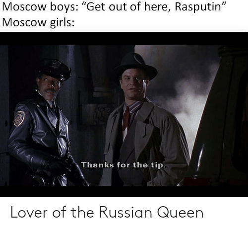 Russian: Lover of the Russian Queen
