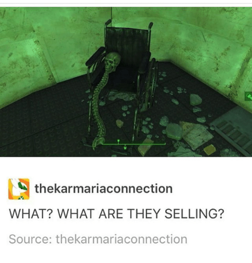 What Are They Selling