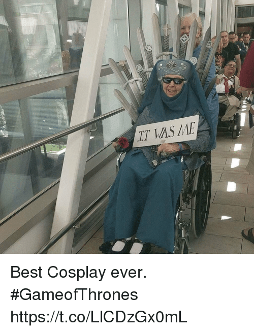 Memes, Best, and Cosplay: LT AS ME Best Cosplay ever. #GameofThrones https://t.co/LlCDzGx0mL