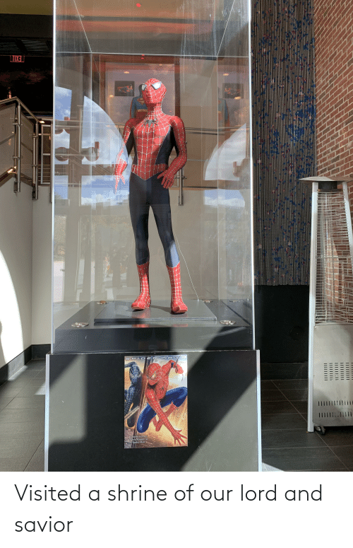 """Tobey Maguire: LTIX3  SPID ER-MA n3  Costume worn by  Tobey Maguire as  Spider-Man""""  III