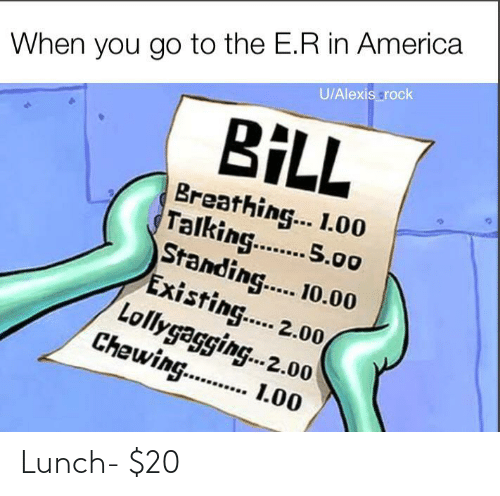 lunch: Lunch- $20