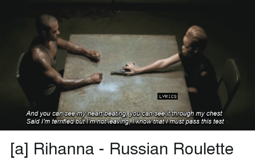 roulette songtext