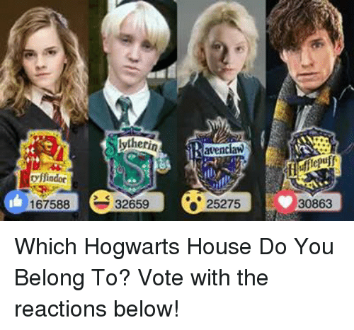 Which Hogwarts How Do You Belong To