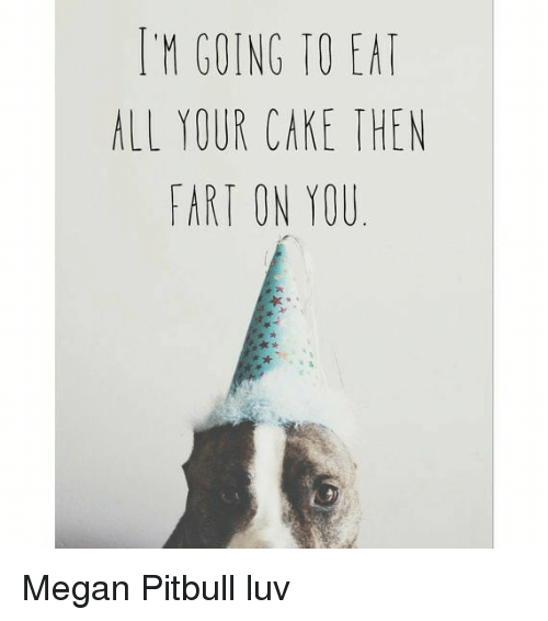 I M Going To Eat Your Cake Then Fart On You