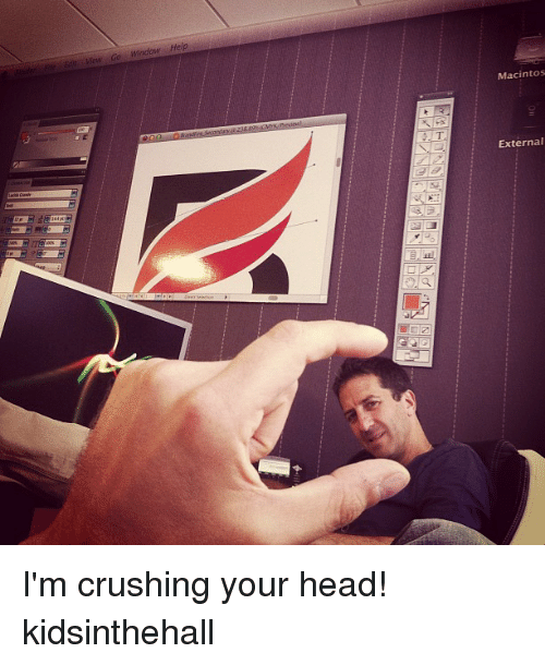 im crushing your head