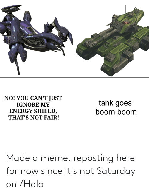 Halo: Made a meme, reposting here for now since it's not Saturday on /Halo