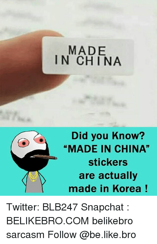 Funny Made in China Memes of 2017 on SIZZLE