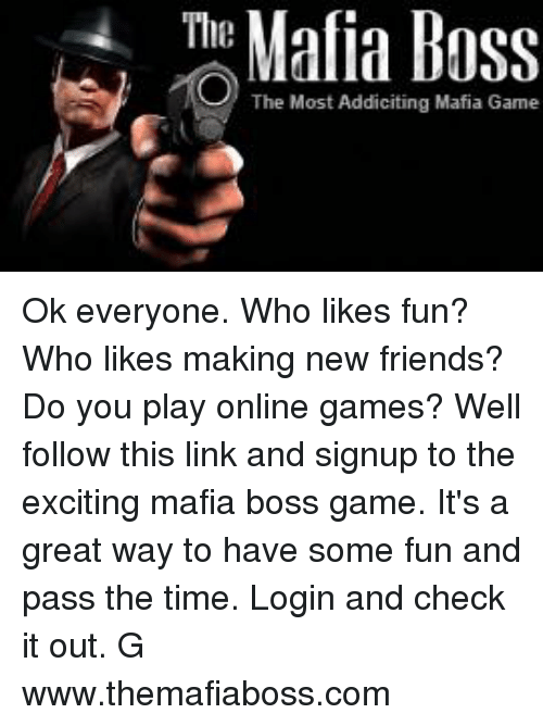 mafia boss game