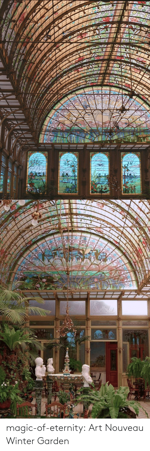 Winter: magic-of-eternity: Art Nouveau Winter Garden