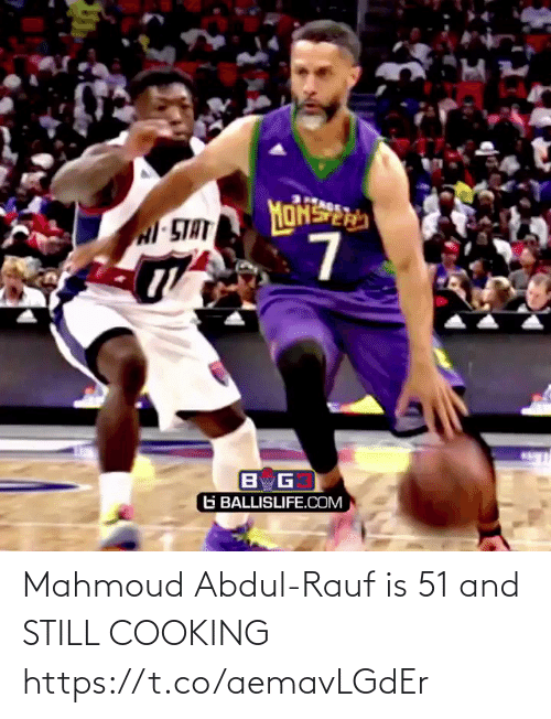 And Still: Mahmoud Abdul-Rauf is 51 and STILL COOKING https://t.co/aemavLGdEr