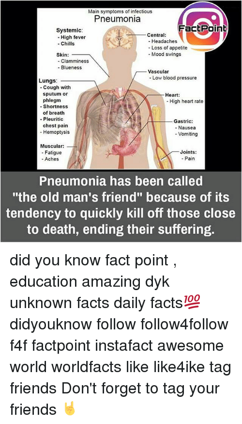 main symptoms of infectious pneumonia fact point systemic central high 14059246 🔥 25 best memes about joint pain joint pain memes