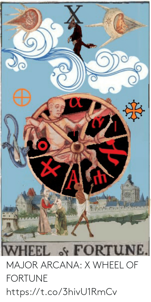 wheel of fortune: MAJOR ARCANA: X WHEEL OF FORTUNE https://t.co/3hivU1RmCv