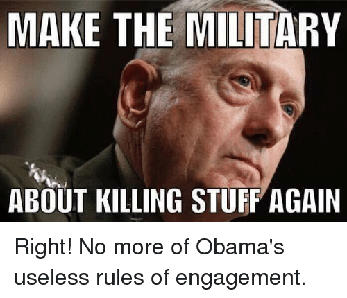 rules to military engagement