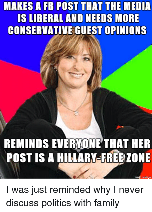 Liberal dating a conservative