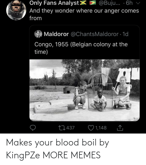 Makes: Makes your blood boil by KingPZe MORE MEMES