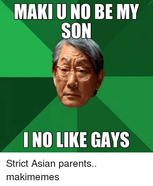 Why are Asian parents so strict