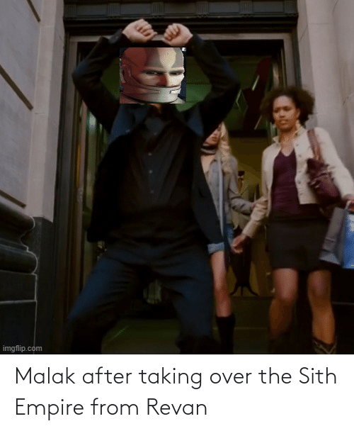 Empire: Malak after taking over the Sith Empire from Revan