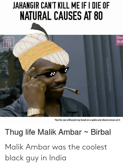 Black Guy: Malik Ambar was the coolest black guy in India